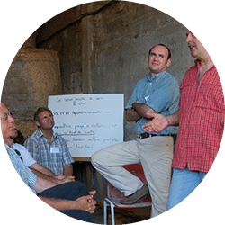 <strong>CHANTIER 1</strong> <br>Co-construction des politiques agricoles périurbaines