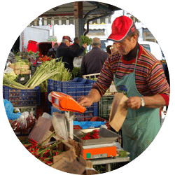 <strong>CHANTIER 3</strong> <br> Economie agricole et gouvernance alimentaire des agglomérations